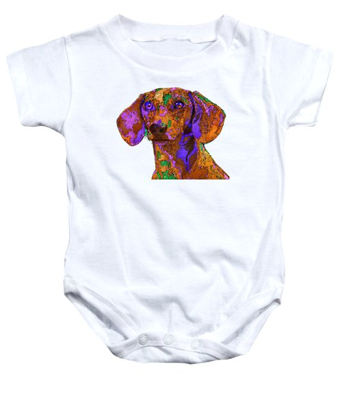 Chloe. Pet Series Baby Onesie