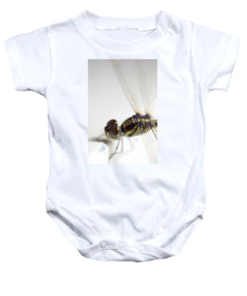 Close Up Shoot Of A Anisoptera Dragonfly Baby Onesie
