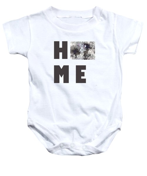 Colorado State Map Baby Onesie