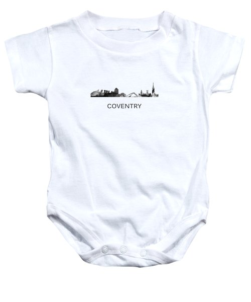 Coventry England Skyline Baby Onesie