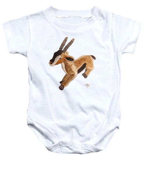 Cuddly Gazelle Baby Onesie