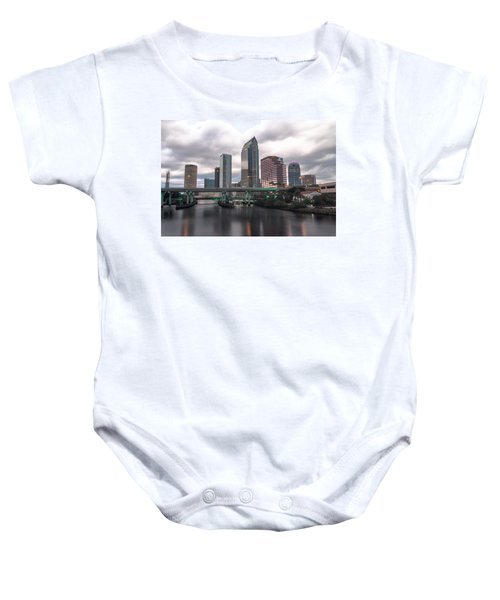 Downtown Tampa Baby Onesie