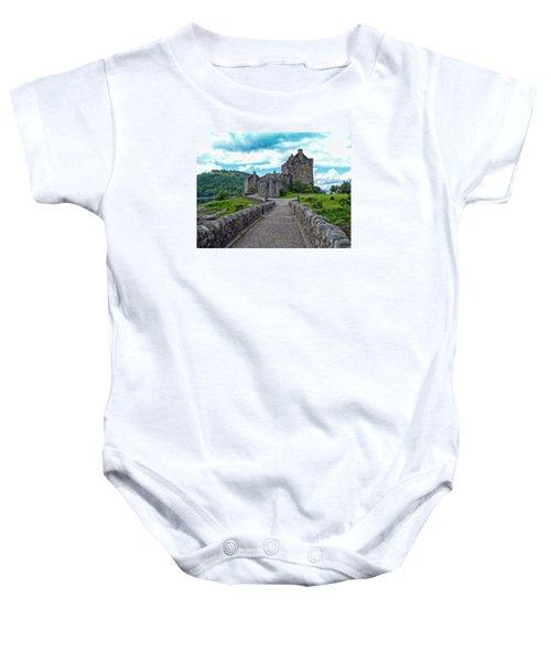 Eilean Donan Castle - -sct665549 Baby Onesie