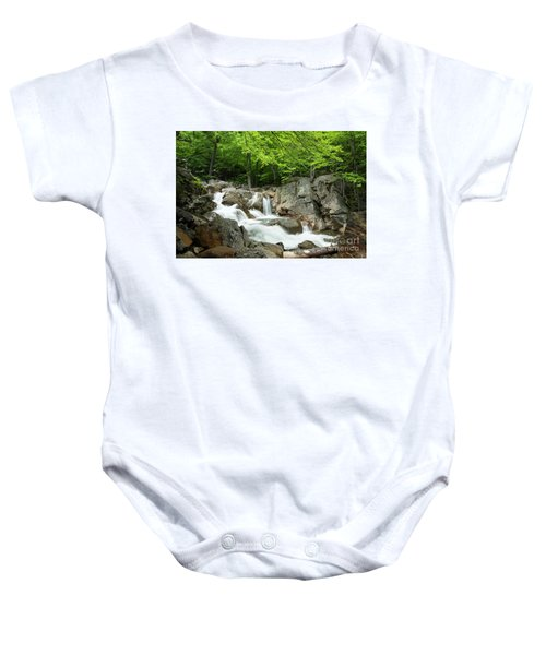 Ellis River Waterfall Baby Onesie