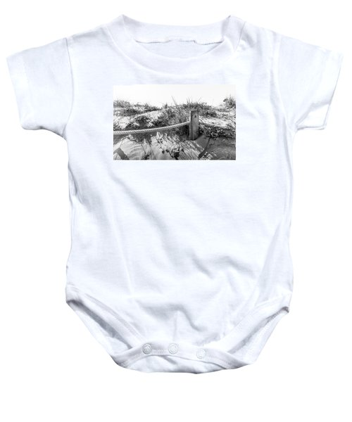Fence Post. Baby Onesie