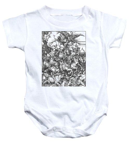 Four Horsemen Of The Apocalypse Baby Onesie
