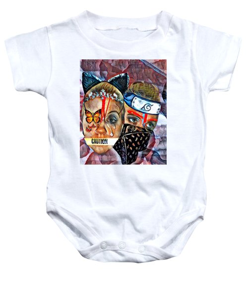 From Waif To Warrior Baby Onesie