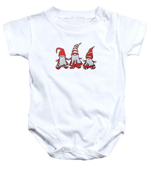 Gnomes Baby Onesie