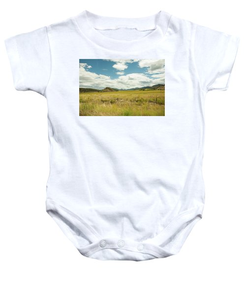 Golden Meadows Baby Onesie