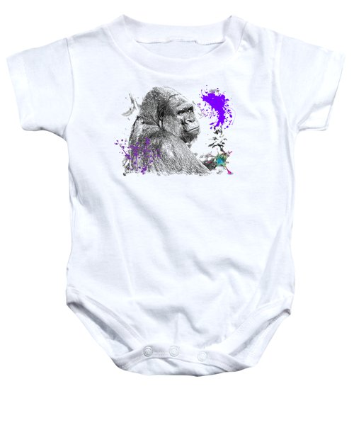 Gorilla Baby Onesie by Maria Astedt