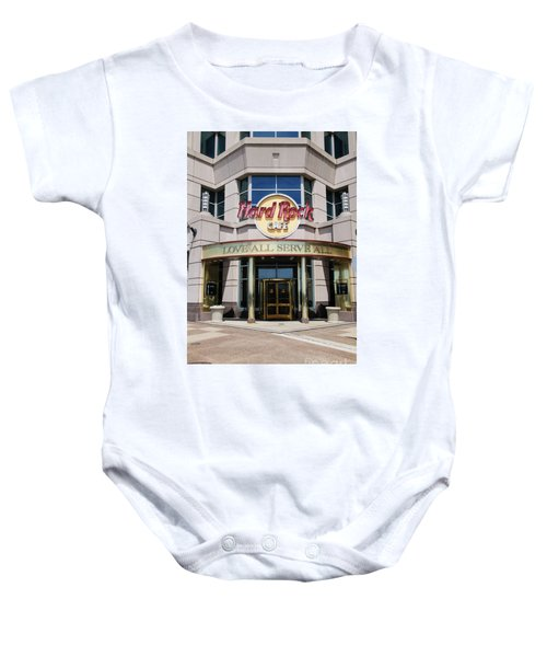 Hard Rock Cafe Baby Onesie
