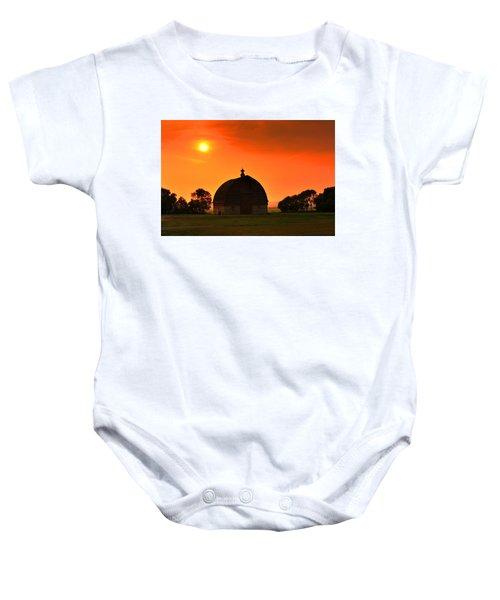 Harvest Sunset  Baby Onesie