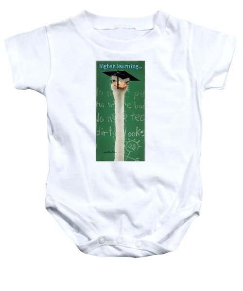 Higher Learning... Baby Onesie