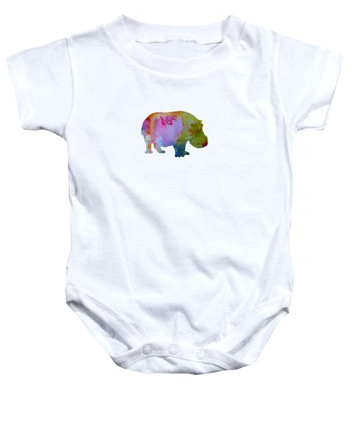 Hippopotamus Baby Onesie