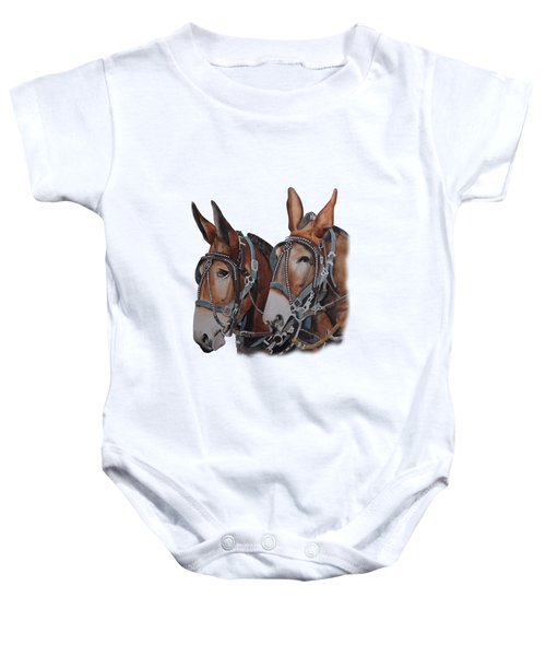 Hitched Baby Onesie by Gary Thomas
