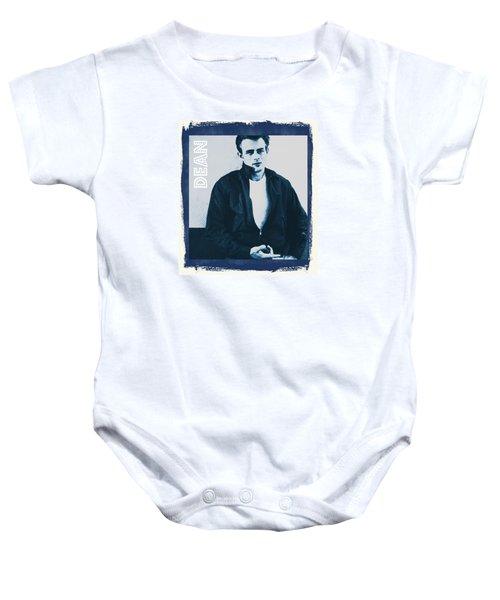 James Dean Baby Onesie by John Springfield