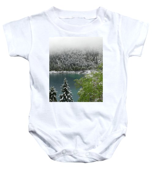 Jiuzhaigou National Park, China Baby Onesie