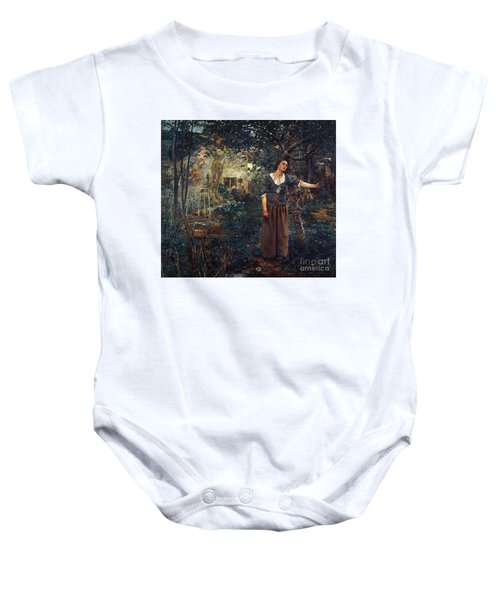 Joan Of Arc C1412-1431 Baby Onesie