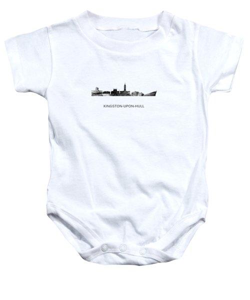 Kingston Upon Hull England Skyline Baby Onesie