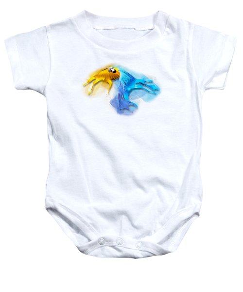 Macaw No 14 Baby Onesie