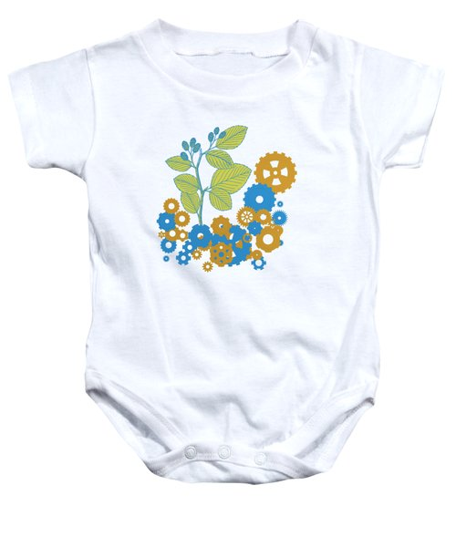 Mechanical Nature Baby Onesie