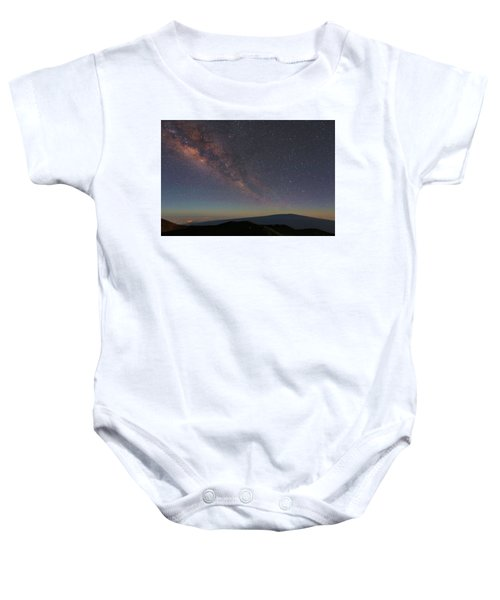 Milky Way Over Mauna Loa Baby Onesie