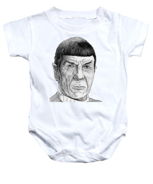 Mr Spock Baby Onesie