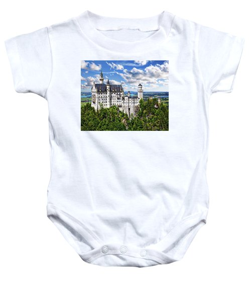 Neuschwanstein Castle Baby Onesie