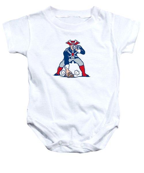 New England Patriots Parody Baby Onesie