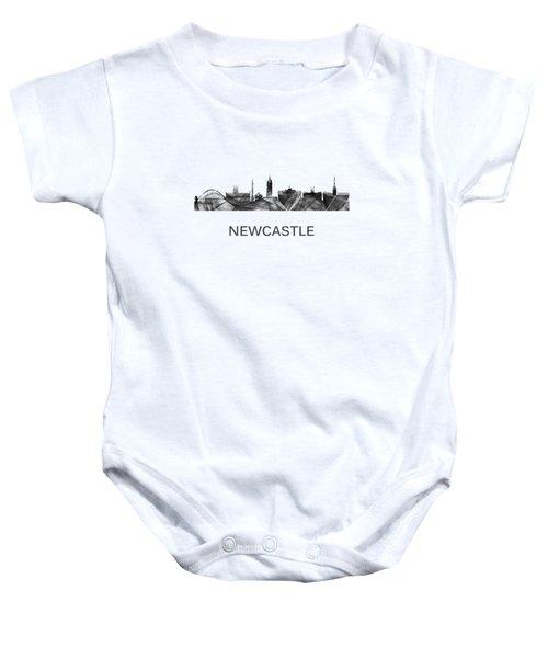 Newcastle England Skyline Baby Onesie