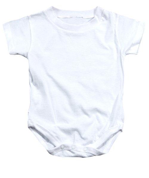 1 Off White Dot Baby Onesie