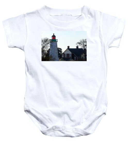 Old Point Comfort Lighthouse Baby Onesie