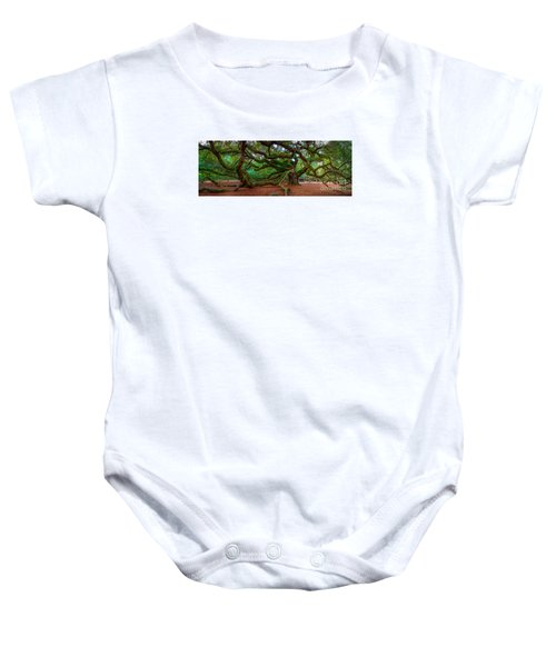 Old Southern Live Oak Baby Onesie