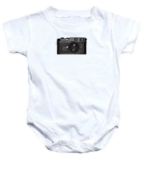 Rangefinder Camera Baby Onesie