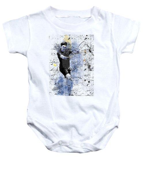Roger Federer Baby Onesie