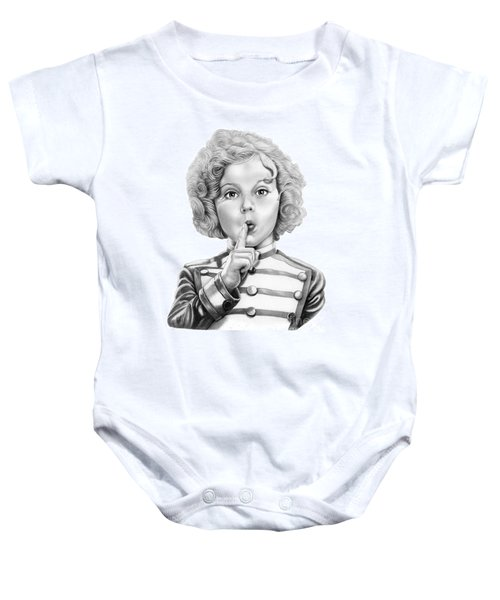Shirley Temple Baby Onesie by Murphy Elliott