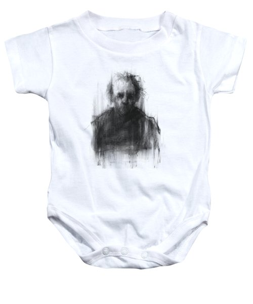 Simple Man Baby Onesie