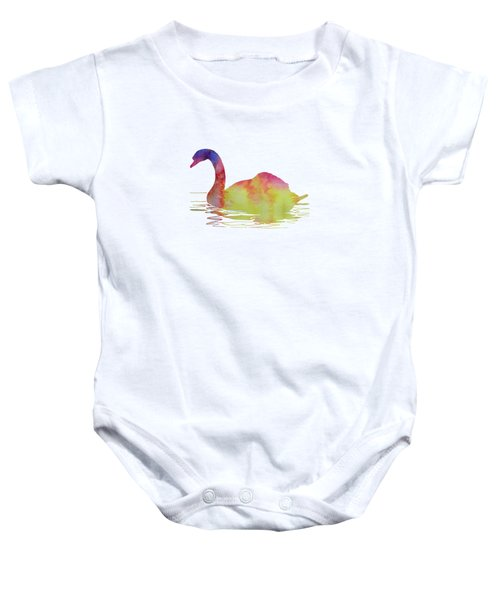 Swan Baby Onesie by Mordax Furittus