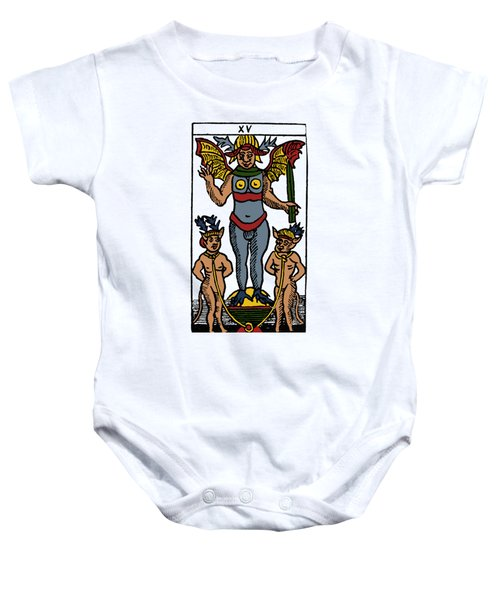Tarot Card The Devil Baby Onesie