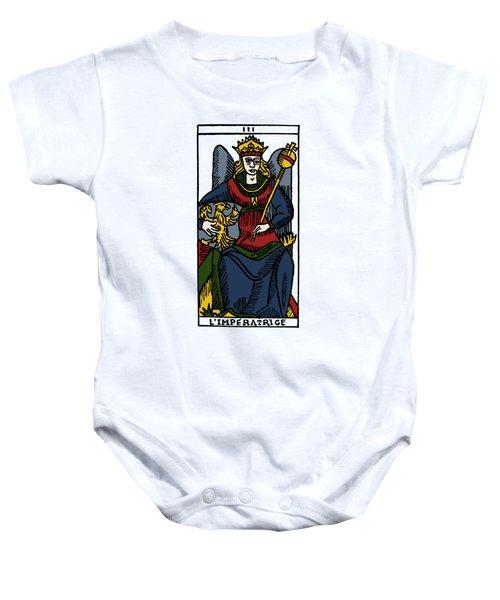 Tarot Card The Empress Baby Onesie