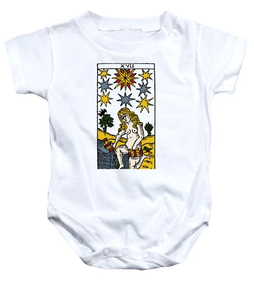 Tarot Card The Stars Baby Onesie