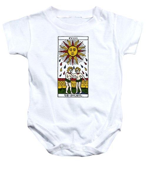 Tarot Card The Sun Baby Onesie