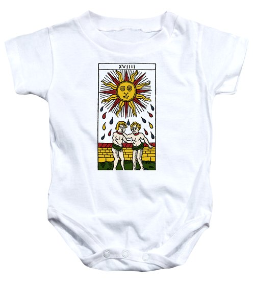 Tarot Card The Sun Baby Onesie
