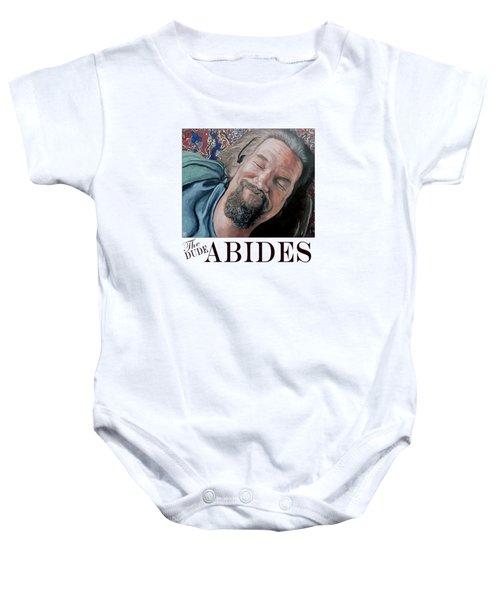 The Dude Abides Baby Onesie