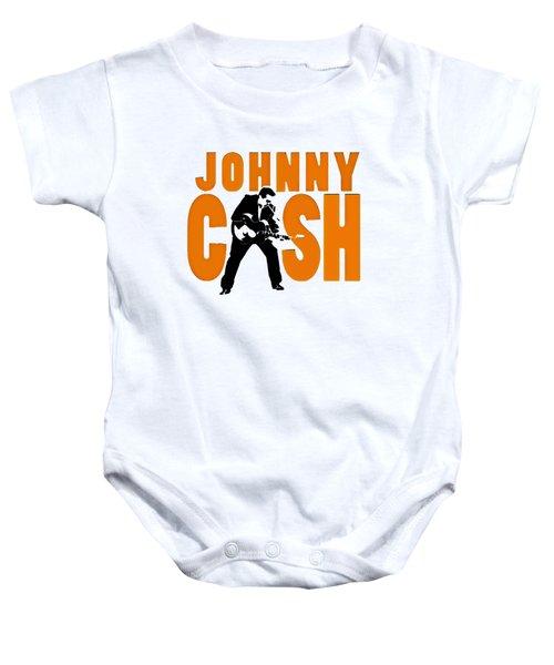 The Fabulous Johnny Cash Baby Onesie