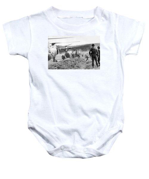 Vietnam Us Army Advisors Baby Onesie