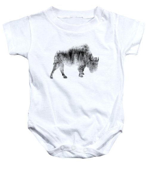 Wild Bison Baby Onesie