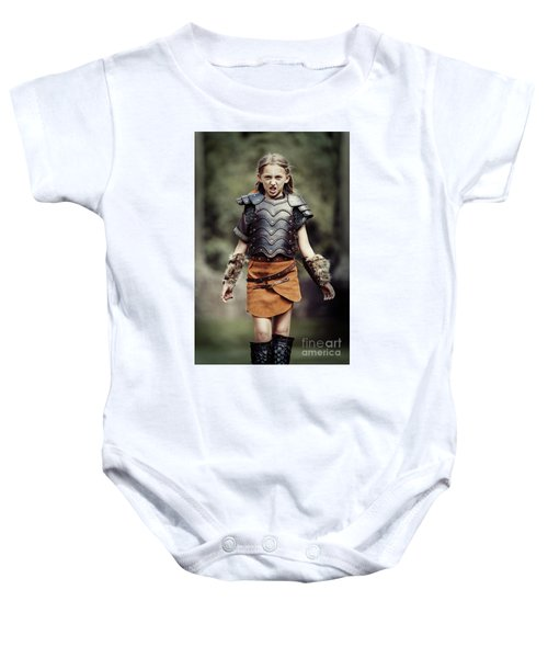 Young Warrior Baby Onesie