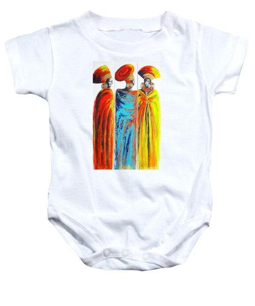 Zulu Ladies 2 Baby Onesie