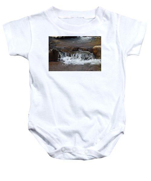 Waterfall Westcliffe Co Baby Onesie